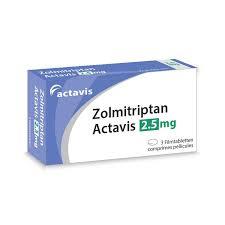 Buy Zolmitriptan Tablets Online UK Next Day Delivery Migraine Orodispersible Dosage