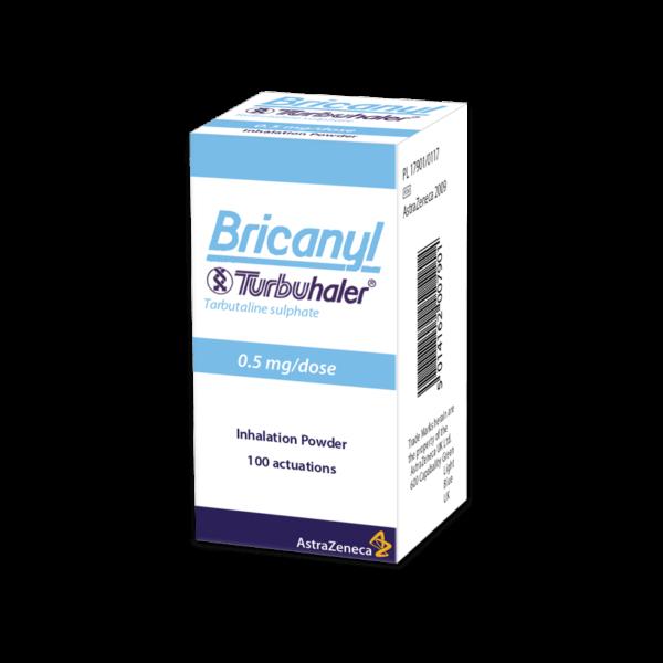 buy bricanyl turbohaler online inhaler infusion UK