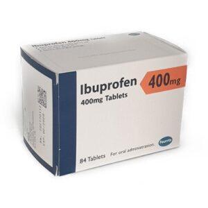 Ibuprofen 400mg 84 Tablets Box