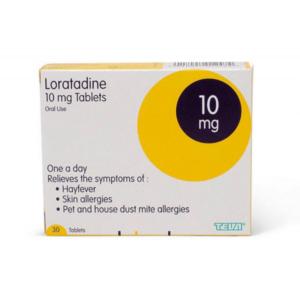 Buy Loratadine Tablets Online UK Next Day Delivery