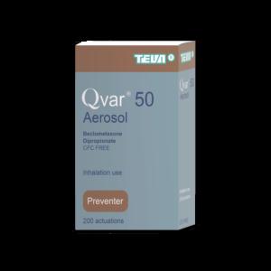 Qvar Inhaler Beclomethasone 100 50