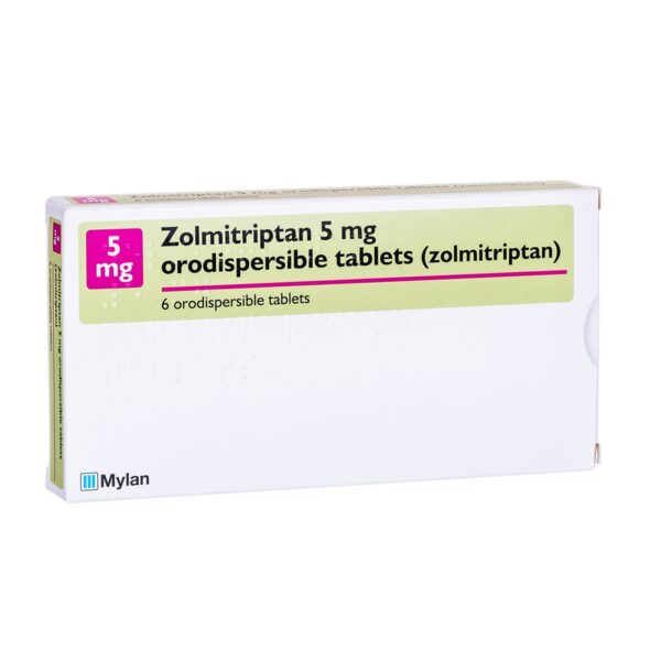 Buy Zolmitriptan 2.5 Mg Orodispersible Online UK Next Day Delivery Tablets