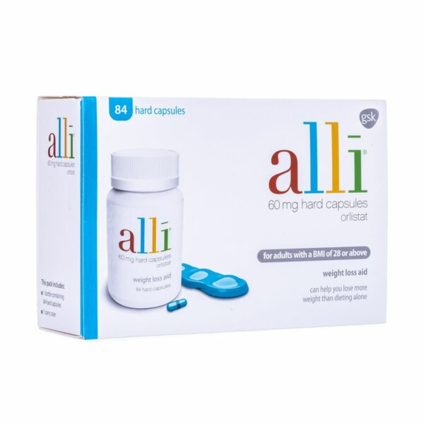Buy Alli (Orlistat) 60mg Tablets Online UK Next Day Delivery Slimming Weight Loss