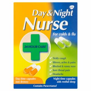 Buy Night Nurse Day & Night Capsules UK Next Day Delivery