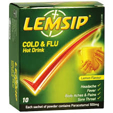 Buy Lemsip Cold Amp Flu Lemon Flavour Sachets Coughs And Colds
