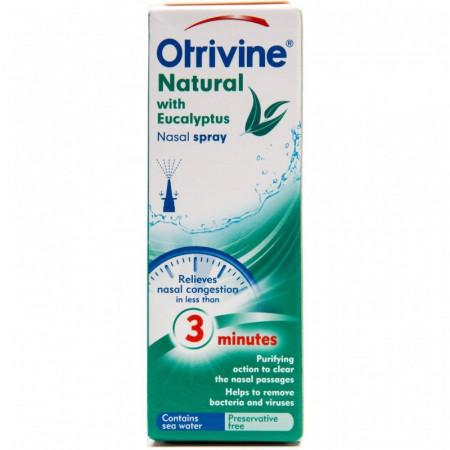 Buy Otrivine Natural Nasal Spray Online UK Next Day Delivery Otrivin Nasal Spray UsesWith Eucalyptus