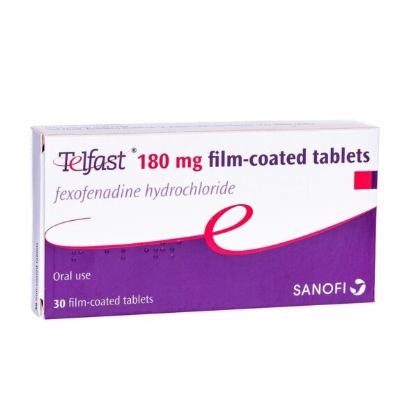 Buy Telfast UK Online Tablets 180 mg 120 mg over the counter fexofenadine