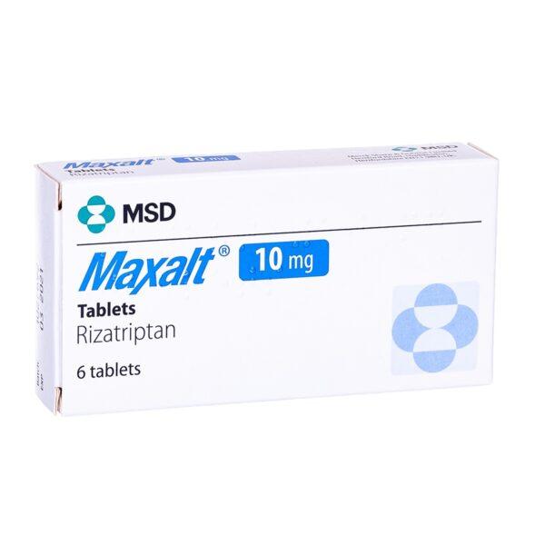 Buy Maxalt Tablets (Rizatriptan) 5mg + 10mg Online UK Next Day Delivery