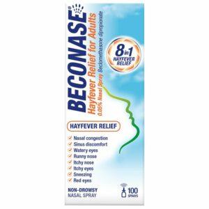 Buy Beconase Nasal Spray 100 Sprays Online UK Next Day Delivery Hayfever Relief