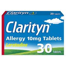 Buy Clarityn (Loratadine) Tablets Online UK Next Day Delivery Hayfever Fexofenadine
