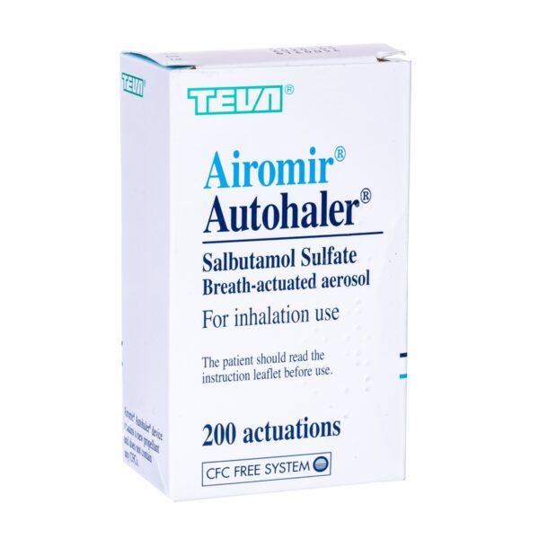 Airomir Autohaler Inhaler 100 mcg SPC Dosage