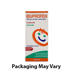Buy Ibuprofen Oral Suspension For Infants & Children Sugar Free 100ml UK Next Day Delivery Online Dosage Can Adults Take