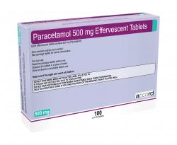 Buy Soluble Paracetamol Online Effervescent 500 mg tablets 500mg