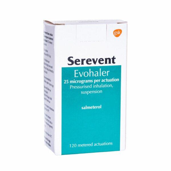 Serevent Evohaler Inhaler Accuhaler UK How to use