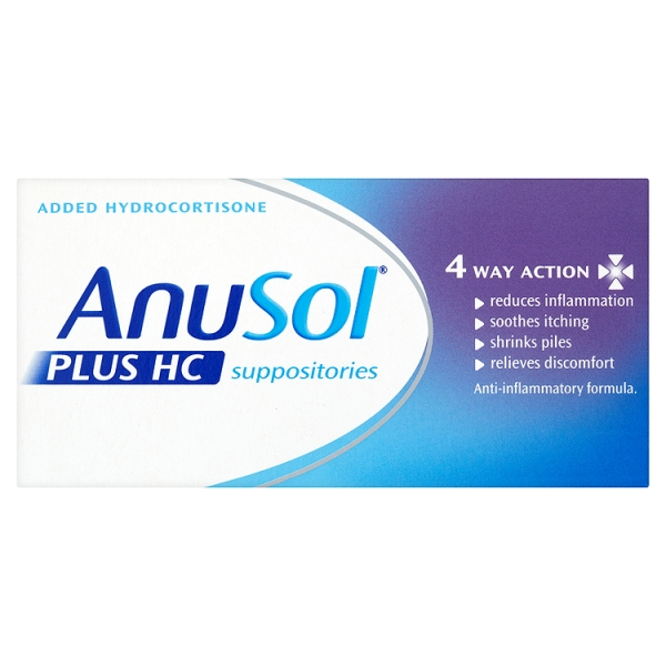 Buy Anusol HC Suppositories Online UK Next Day Delivery Review
