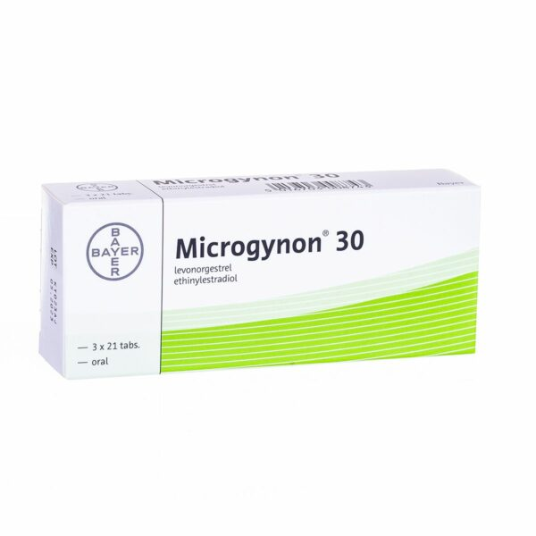 Buy Microgynon 30 Contraceptive Pills 150mcg/30mcg Online