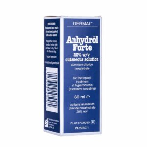 Buy Anhydrol Forte Roll-on 60ml UK Next Day Delivery Online Dermal Burning Side Effects