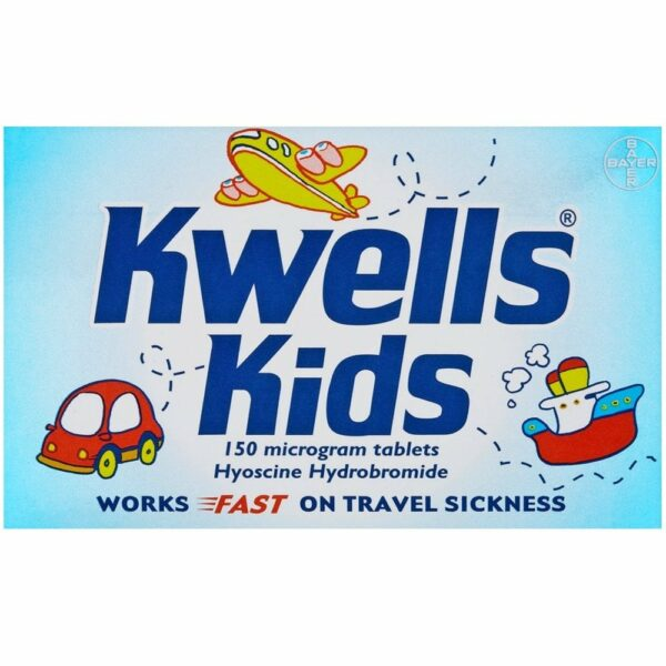 Buy Kwells Chewable Online Tablets Travel Sickness Nausea