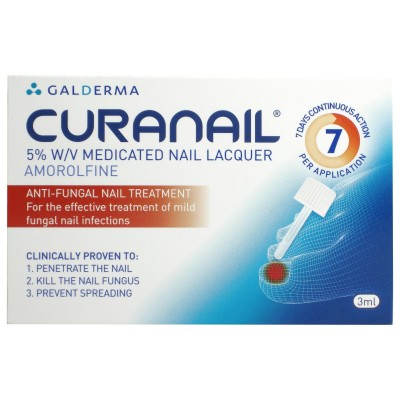 Buy Loceryl Curanail 5% Medicated Nail Lacquer 3ml Online UK Next Day Delivery