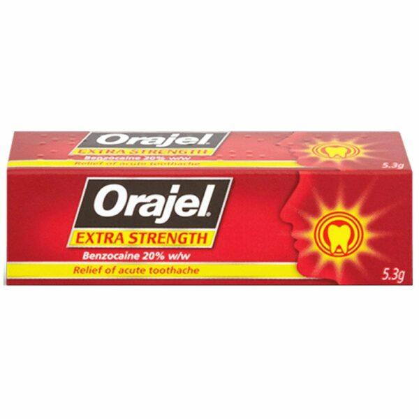 Buy Orajel Extra Strength Gel Online UK Next Day Delivery Dental5.3 g