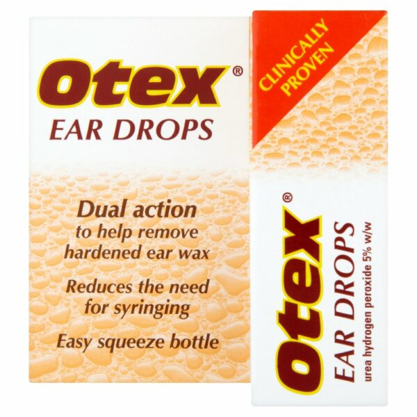 Buy Otex Ear Drops 8ml Online UK Next Day DeliveryExpressFizzingReview