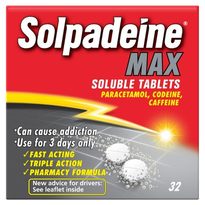 Buy Solpadeine Max Soluble Tablets UK