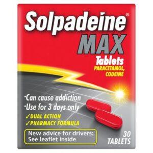 Buy Solpadeine Max UK Online Strength Capsules