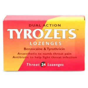 Buy Tyrozet Dual Action Throat Lozenges Online UK Next Day Delivery Sainsburys Asda