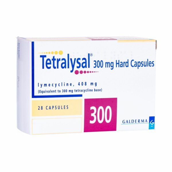Tetralysal Capsules Buy Tablets Uk Online 300mg 300 Mg