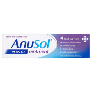 Buy Anusol Plus HC Ointment 15g Online UK Next Day Delivery