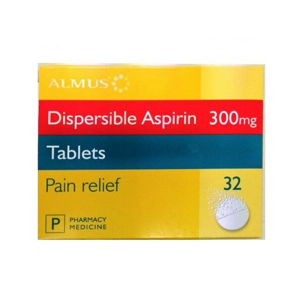 Aspirin Dispersible 300mg Tablets Image