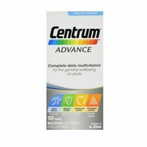 Buy Centrum Advance Complete Multivitamins Online UK Next Day Delivery