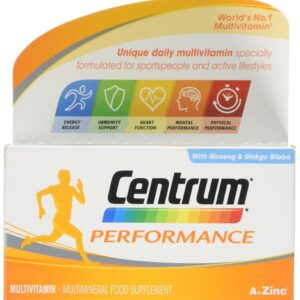Buy Centrum Performance Multivitamins Online UK Next Day Delivery Side Effects Medical Review