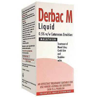 Buy Derbac M Liquid UK Next Day Delivery Online 200ml Pil For Use