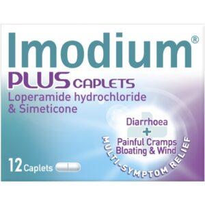 Imodium Plus Caplets Image
