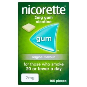 Buy Nicorette 2mg Original Chewing Gum OnlineUK Next Day Delivery