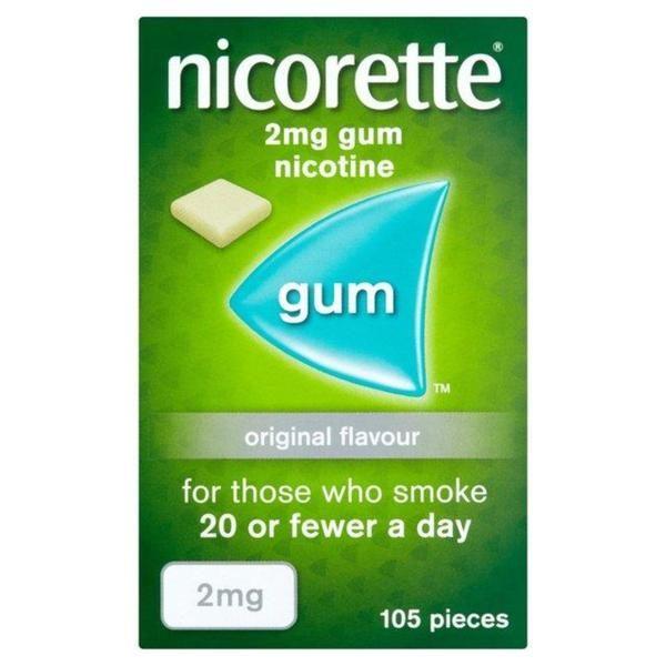 Nicorette Original Flavour Gum Image