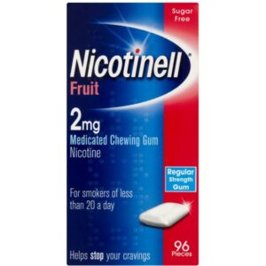 Nicotinell Fruit Chewing Gum 2mg Image