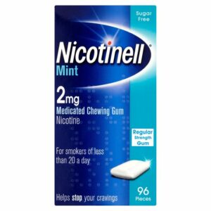 Buy Nicotinell Mint 2mg Chewing Gum Online UK Next Day Delivery204 PiecesPack OfCheapest