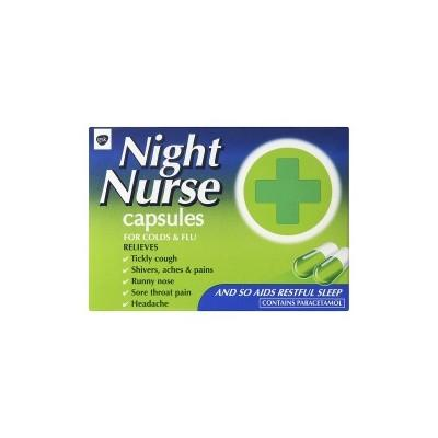 Buy Night Nurse Cold And Flu Capsules Online UK Next Day Delivery