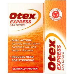 Buy Otex Express Ear Drops OnlineUK Next Day Delivery10ml Ingredients