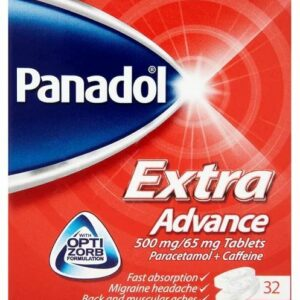 Buy Panadol Extra Advance Tablets Online UK Next Day Delivery Ingredients