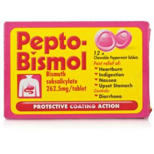 Buy Pepto Bismol Tablets Online UK Next Day Delivery