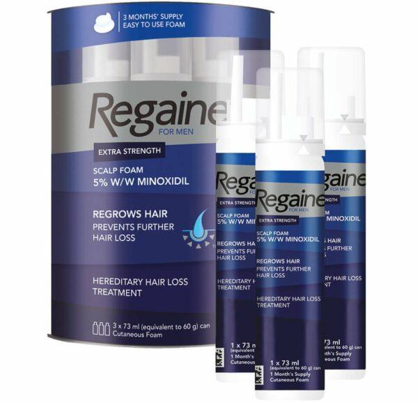 Buy Regaine For Men Extra Strength scalp Foam Online
