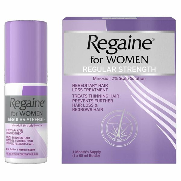 Buy Regaine For Women Regular Strength OnlineUK Next Day Delivery 2 Minoxidil 60 Ml Hereditary Hair Loss Treatment 60ml
