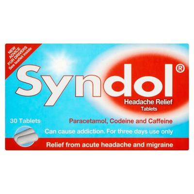 Syndol Headache Relief Tablets UK Next Day Delivery