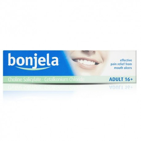 Buy Bonjela Adult Gel Mouth Ulcer Treatment 15g Online UK Next Day Delivery