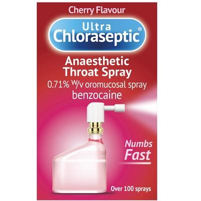 Buy Ultra Chloraseptic Anaesthetic Throat Spray OnlineUK Next Day Delivery