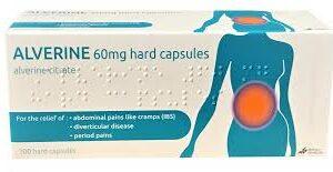 Buy alverine citrate 60mg capsules online
