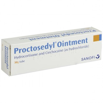 Buy Proctosedyl Ointment 30g Online UK Next Day Delivery SPC